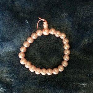 "Pink pearl ""Buddha"" bracelet"